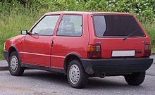 Fiat Uno - Wikipedia, the free encyclopedia