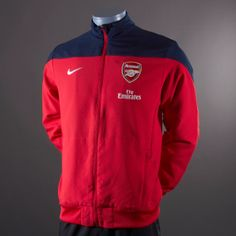 Nike Arsenal Squad Sideline Woven Jkt - Red/Obsid/Wht