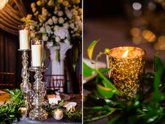 Candles and ambiance // Photography: Emily + Steven Photography