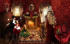 """Everything in the world: """"Victorian Christmas"""" and pictures of Mark Keathley"""