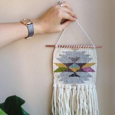 Tapestry Weaving Wall Hanging Workshop with Melissa Jenkins // Madison, WI // April 22nd, 2017