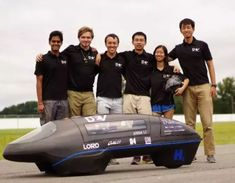 Duke team sets world record for most efficient vehicle - The prototype vehicle set a new bar for efficiency at miles per gallon. The team was certified as world record holders by Guinness World Records. Fuel Cell Cars, Duke University, World Records, Fuel Economy, Higher Education, Engineering, Student, Technology, Energy News