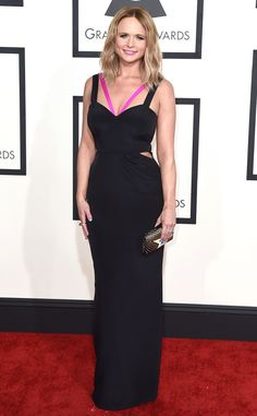 Miranda Lambert from 2015 Grammys: Red Carpet Arrivals She is EVERYTHING! We LOVE her! www.therefinedshop.com