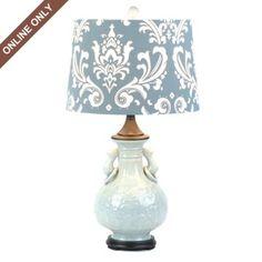 White Ceramic Table Lamp  kirklands.com  HAVE TO HAVE!!!!!
