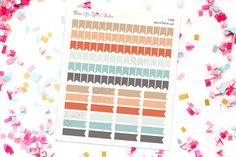 Assorted Inkwell Press Page Flag Planner Stickers