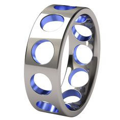 DeepCore Anodized Titanium Wedding Ring