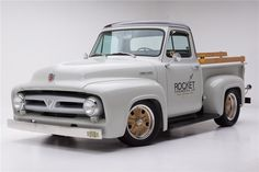 1953 FORD F-100 CUSTOM PICKUP vin F10R3N24199
