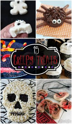 15 Creepy Treats - C