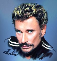 Johnny+Hallyday+by+shahin