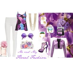 """""""Floral Fashion Contest"""" by janet-palaggi on Polyvore"""
