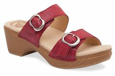 Dansko Sophie in Red Moray
