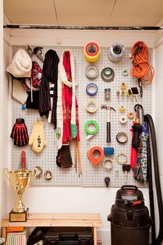 Things Organized Neatly.