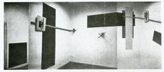 El Lissitzky PROUN Room 1923 Prounenraum [Proun Room], Great Berlin Art Exhibition, 1923