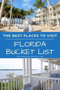 Unmissable Florida Destinations | With so much Florida to go around, there is something for everyone: from the excitement of Miami and its great hotel scene, shopping and dining, to Orlando and its theme parks, to nicer quieter areas such as Sarasota and icons such as the Florida Keys. | Mrs O Around the World | #Travel #Florida #FloridaDestinations | florida trips | florida ideas | visit florida | vacation florida | travel to florida | beautiful places in florida | florida fun