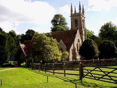 St. Nicholas Church Chawton Photo, Hampshire, England.  In this church the novelist, Jane Austen, worshiped every sunday while she lived in the Hampshire village of Chawton