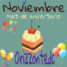Mes de aniversario #noviembre consulta las promociones en www.orizzontedc.com.mx
