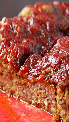 Slow Cooker Cheddar meatloaf
