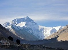 Everest (from Rongbuk Monastery, Tibet)