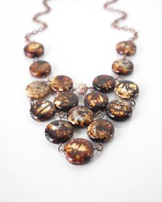 Hey, I found this really awesome Etsy listing at https://www.etsy.com/listing/127387299/cocoa-brown-agate-statement-necklace
