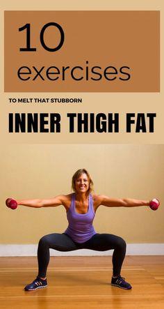 10 Exercises To Melt That Stubborn Inner Thigh Fat   BetaFitness.net