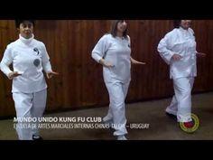 Ejercicios de Tai Chi. Pasos del principiante 1. Caminando en las nubes - YouTube