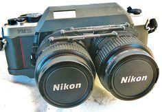 Nikon 3D camera  i didn't know....wow!!!