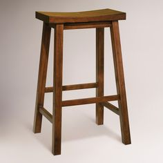 1000 Images About Wood Bar Stools On Pinterest Bar
