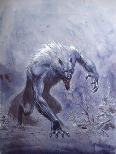 Loup Garou by Jean-Baptiste Andreae