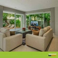 #Villadijual - The area that you would likely spend the time the most with family member right after retiring day.  SEARCH CODE: #TBP487Bali  TAGS: #livingroom #interior #decor #tropicalhome #homedesign #homestyle #designinspiration #moderndesign #interiorarchitecture #rich #bosslife #wealthy #homeforsale #villaforsale #propertyforsale #berawabeach #canggu #bali #balivilla #balivillarental #business #investment #property #realestate #invest #tabananbaliproperty