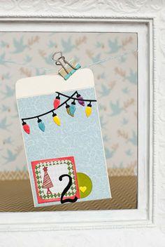 12 Días, día 2! #Sobres, #tag, #etiqueta, #tarjetas, #cards, #scrapbooking, DIY Playing Cards, Diy, Making Cards, Tags, Xmas, Envelopes, Bricolage, Diys, Handyman Projects