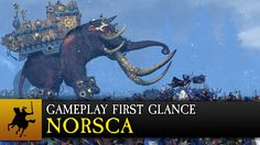 Total War: WARHAMMER - Norsca Gameplay First Glance - We'll need more bigger Legolas.