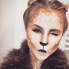 Deer makeup Bambi                                                                                                                                                     More