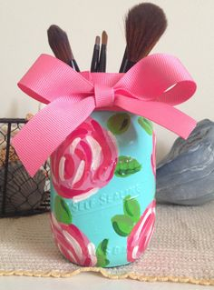 Lilly Pulitzer Inspired First Impressions por LuckyElephantCrafts