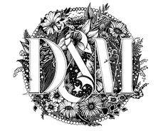 "Check out new work on my @Behance portfolio: ""D&M IN PARADISE"" http://be.net/gallery/55025297/D-M-IN-PARADISE #typography #lettering #illustration #handdrawing #drawing #handlettering #type"