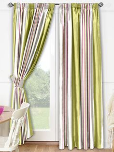 Serendipity Guava Curtains from Curtains 2go