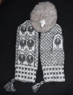 Some description Fingerless Mittens, Knit Mittens, Knitted Gloves, Crochet Stitches, Crochet Hooks, Knit Crochet, Norwegian Knitting, Textiles, Fair Isle Pattern