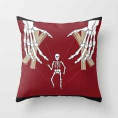 Always Pulling on My Strings. . .  Throw Pillow by Salina Ayala - $20.00