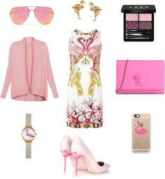 Flamingo spring outfit