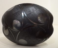 Ceramic, Burnished vessel.  Kim Sacks Gallery, Johannesburg