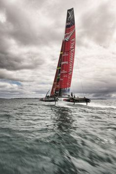 """""""Let's go !"""" - Chris Cameron - America's Cup and sailing pictures for home decoration - Limited edition"""