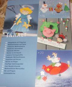 Fröhliche Weihnachten Fensterbilder Pia Pedevilla TOPP 2013 Basteln Bastelbuch 4