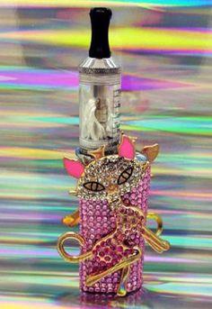 pink rhinestone vape bling kitty vape mod box main image