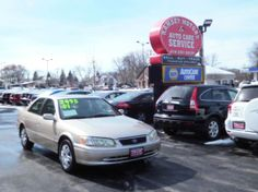 This 2001 Toyota Camry LE is listed on Carsforsale.com for $3,495 in Milwaukee, WI. This vehicle includes Cassette, Center Console, Clock, Cruise Control, Front Air Conditioning, Front Airbags - Dual, Front Seat Type - Bucket, Front Wipers - Intermittent, Gauge - Tachometer, In-Dash Cd - Single Disc, Multi-Function Remote - Trunk Release, Power Brakes, Power Door Locks, Power Steering, Power Windows, Radio - Am/Fm, Rear Seat Type - Split-Bench, Side Mirror Adjustments - Power, Steering ...
