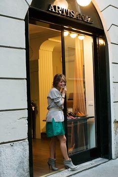 Great New Shop……..Artisanal, Milan