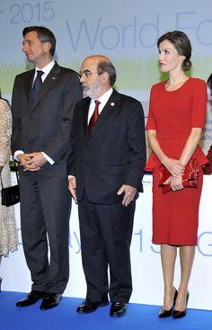 Doña Letizia vuelve a dar su alerta 'roja' contra el hambre en Italia