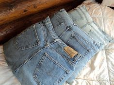 old jeans to pillows