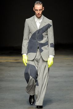 MAN Fall 2014 Menswear Collection Slideshow on Style.com