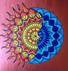 LunaSol Mandala Art Print