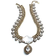 ANGELICA    Necklaces    The embodiment of luxe-glam. The Angelica necklace is the perfect accent for those dressy occasions.