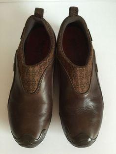 Merrell Womens Forecast Shoes Brown Waterproof Polartec Slip On Mocs Sz 9.5  #Merrell #LoafersMoccasins #WalkingHiking